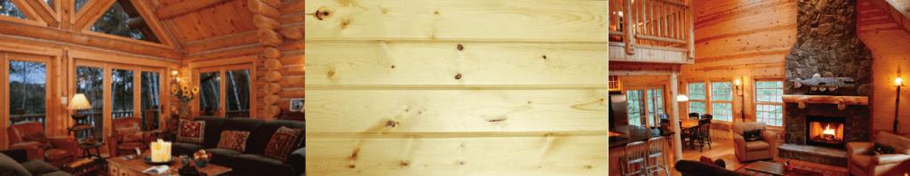 easy-pine paneling