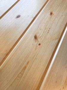 Easy Pine Paneling