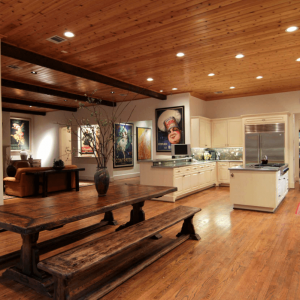 easy cedar tongue and groove ceiling